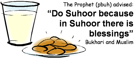 The Importance of Suhur
